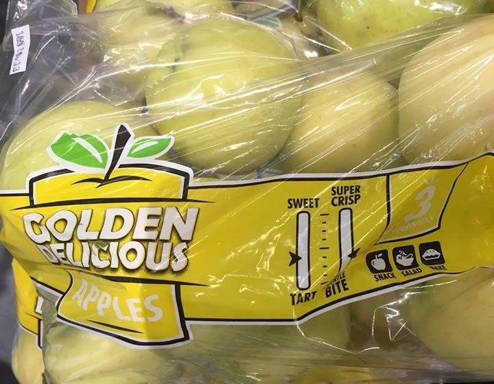Идея упаковки для яблок, которая стимулирует продажи