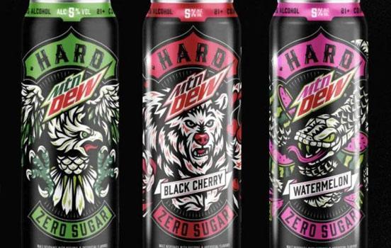 PepsiCo випускатиме новий алкогольний напій під брендом Mountain Dew