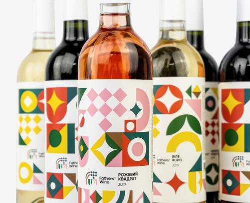 Етикетка винного бренду Fathers Wine перемогла в конкурсі на найкращий дизайн